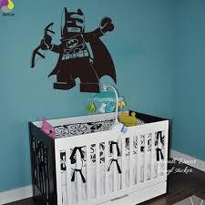 aliexpress com compre lego lego batman adesivo de parede sala dos aliexpress com compre lego lego batman adesivo de parede sala dos meninos dos desenhos animados do bercario do bebe super herois decalque da parede quarto