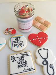 get well soon cookies get well soon cookies bandaids stethoscopes rx pad flickr