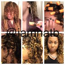 stranded rods hairstyle two strand twist with perm rods iamnatb com