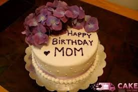 Birthday Cake Delivery Order Happy Birthday Mom Butterscotch 1 Kg Cake Delivery In Delhi