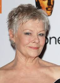pics of crop haircuts for women over 50 judi dench short pixie cut for women over 50 pretty designs