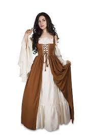 amazon com halloween costumes amazon com renaissance medieval irish costume chemise and over