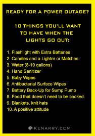 emergency lights when power goes out power outage five reasons to give thanks survival emergency