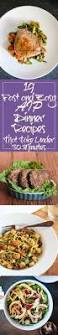 My Recipe Journey Main Dishes Recipes To Cook Pinterest 19 Fast And Easy Aip Dinner Recipes That Take Under 30 Minutes