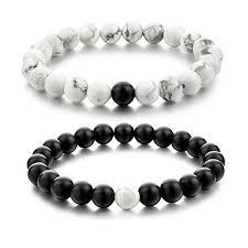 white bead bracelet images Distance bracelets alpha accessories bracelets free shipping png