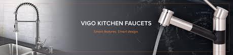 vigo kitchen faucets 28 kitchen faucet deck plate vigo chrome