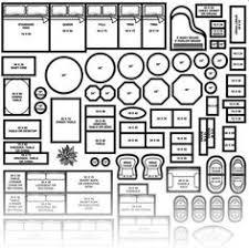 Interior Design Floor Plan Symbols by Furniture Plan View Google Search Furniture Symbols