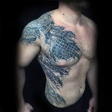 40 3d chest designs for manly ink ideas