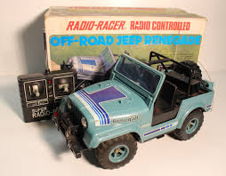 vintage jeep tandy radio shack jeep renegade 1984 r c toy memories