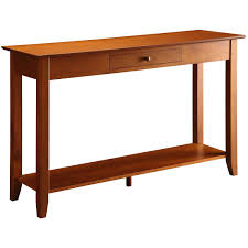 youclassify console table wood silver sofa table retro console