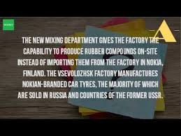 Best Nokian Wrg3 Suv Review Customer Where Nokian Tires Are Made Youtube