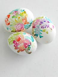 Easter Decorations On Clearance by Watercolor Flower Easter Eggs Grow Creative Blog Easter