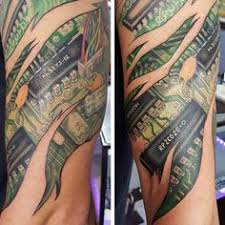 45 awesome biomechanical tattoos ripped skin tattoo