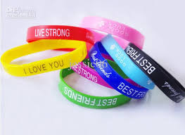 rubber wrist bracelet images Fashion jelly silicon glow rubber wristband bracelet unisex sport jpg