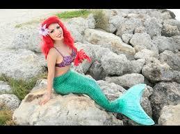 disney u0027s mermaid makeup tutorial