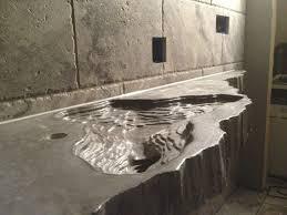 best design polished concrete countertops vs granite also