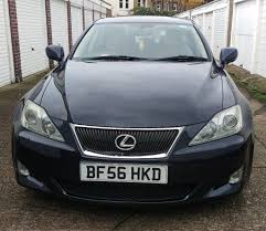black lexus 2006 2006 lexus is 250 se l auto saloon history 6 months warranty px