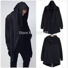 mens sweater hoodie cardigan black mens hoodie cloak menswear mens sweater