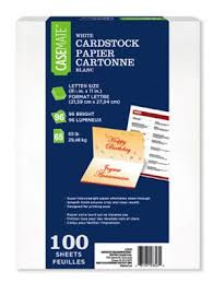 casemate white cardstock walmart canada