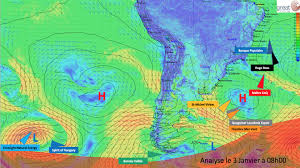 meteo sur mon bureau the trade winds stretch them out again vendée globe
