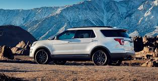 Ford Explorer White - 2017 ford explorer xlt sport pack is high impact styling upgrade