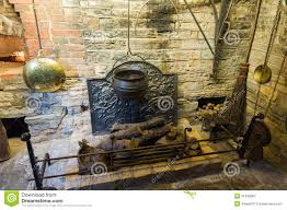 medieval house interior medieval fireplace royalty free stock photography image 31340687