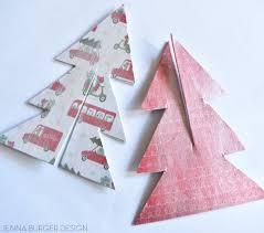 Christmas Decoration Using Paper Mod Podge Diy Christmas Ornament Jenna Burger