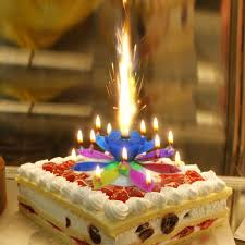 lotus birthday candle sparkler birthday candles for cakes car candles for cakes party cake
