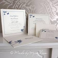 Wedding Invitations Information Blossom Pocketfold Wedding Invitation Includes Rsvp U0026 Guest