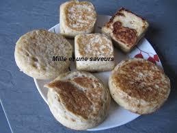 levure cuisine crumpet au levain naturel ou avec levure fraiche au coeur coulant