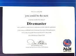 curso divemaster lanzarote ocean u0027s divers
