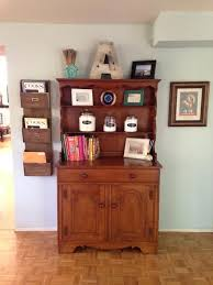 Craigslist Bakers Rack China Hutch Re Purposed As A Baker U0027s The Northwest Nest