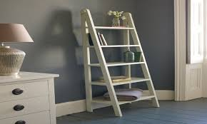 Narrow Ladder Bookcase by Furniture Narrow Ladder Shelves And Leaning Ladder Shelves