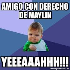 Yeeeaaahhh Meme - meme bebe exitoso amigo con derecho de maylin yeeeaaahhh