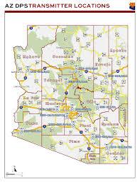 Sedona Map Arizona Dps Transmitter Location Map The Radioreference Com Forums