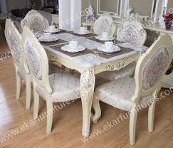 rectangle pedestal classic italian dining room sets marble dining