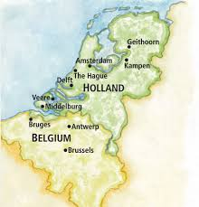 belgium and netherlands map aca waterways of and belgium ua alumni association
