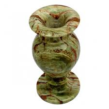 Decorate Flower Vase Multi Green Onyx Decorative Flower Vase Natures Artifacts