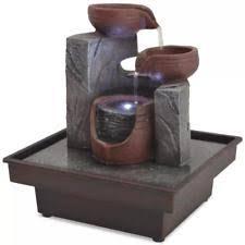 indoor fountain with light decorative indoor fountains ebay