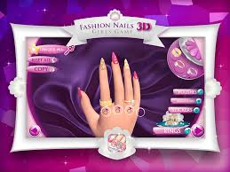 fashion nails 3d girls game create awesome manicure designs in