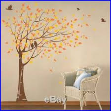 Removable Wall Decal Sticker Cherry Blossom Tree Self Adhesive Decor