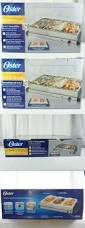 Oster Buffet Warmer by Chafing Dishes And Warming Trays 27552 6 Pack Deluxe Full Size 8