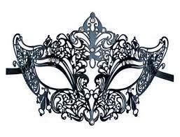 metal masquerade mask metal masquerade mask black nobility mask shop
