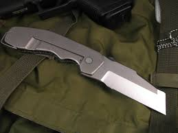 Unique Knives Graham Knives Razel Cliff Folder Fort Henry Custom Knivesfort