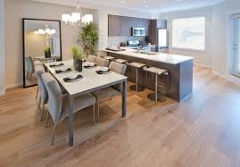 Glass Table Kitchen by How To Choose A Dining Table In The Kitchen U2013 Fields Of Blue Home
