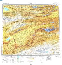 Kyrgyzstan Map Index Of Latombe Mountain Photo Kyrgyzstan 08