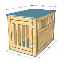 Free Woodworking Plans Small End Table by Pet Kennel Woodworking Plans Step 10 Woodworking Pinterest