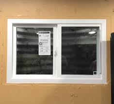basement windows replacement vinyl basement windows replaced