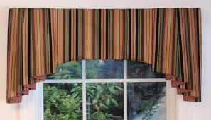 Black Valances Devon Striped Window Valances Thecurtainshop Com