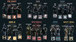 what does siege rainbow six siege operators sheet imgur